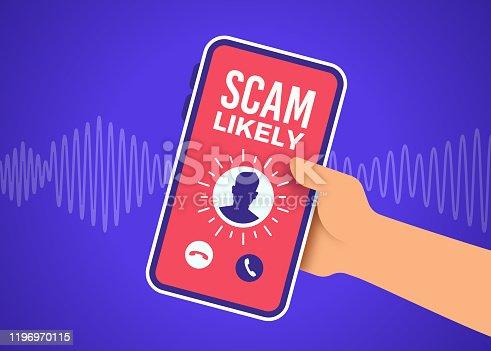 istock Scam Telephone Call 1196970115
