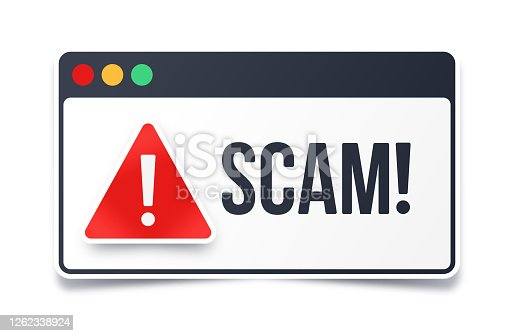 istock Scam Warning 1262338924