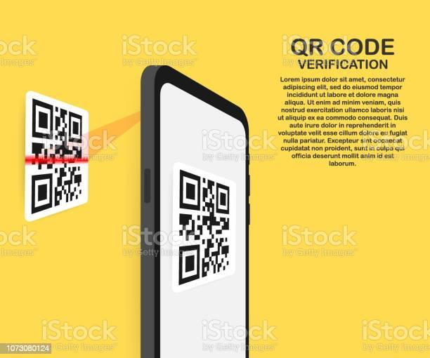 Scan qr code to mobile phone electronic digital technology barcode vector id1073080124?b=1&k=6&m=1073080124&s=612x612&h=uioijpz3jje2dlhqkbtfalgdixe6dnanm8b7cmsnq7k=