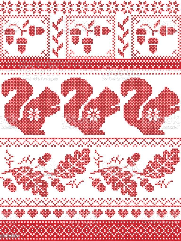 Scandinavian And Norwegian Christmas Culture Inspired Festive Winter ...