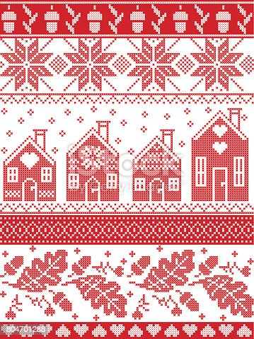 Christmas Tree Cross Stitch Pattern