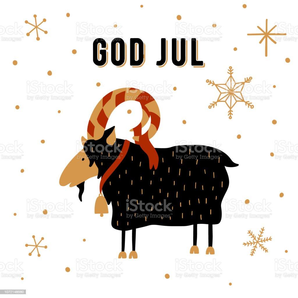 Finland Christmas Goat.Scandinavian Christmas Tradition Christmas Yule Goat