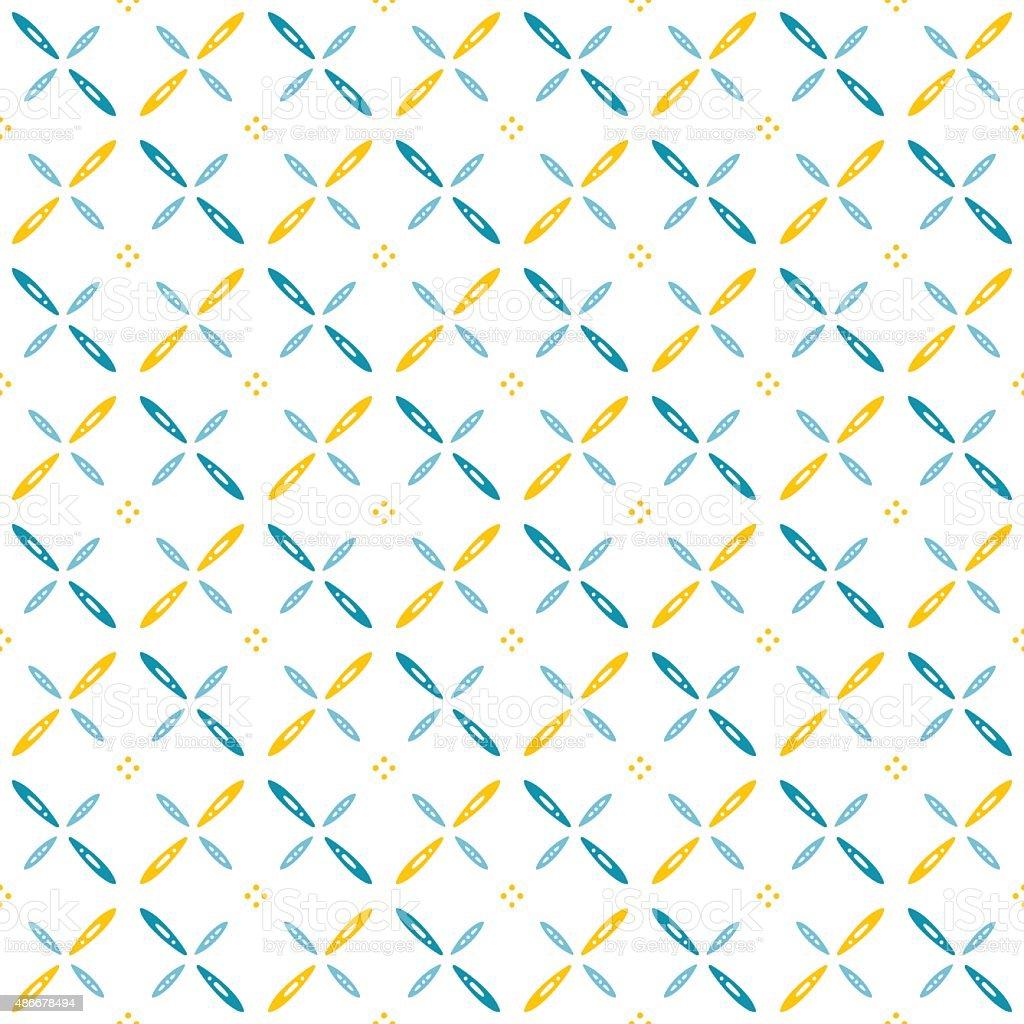 Skandinavisches design muster  Skandinavisches Design Muster Mit Crossing Rosenblätter Auf Weißem ...