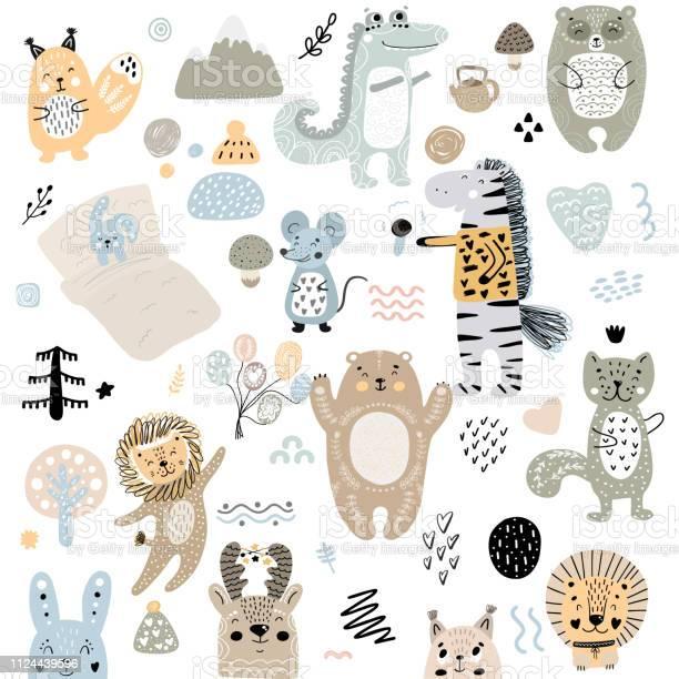 Scandinavian kids doodles elements pattern set of cute color wild vector id1124439596?b=1&k=6&m=1124439596&s=612x612&h=uqj0imhtlbw0hdrmckw7xuqrusfim7fwbsbzai6byge=