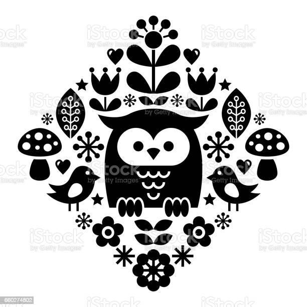 Scandinavian pattern nordic folk art inspired by traditional finnish vector id660274802?b=1&k=6&m=660274802&s=612x612&h=hzd ieaes5ngon5ygvtghy9dj9vid4zs34lhh2zyaqk=