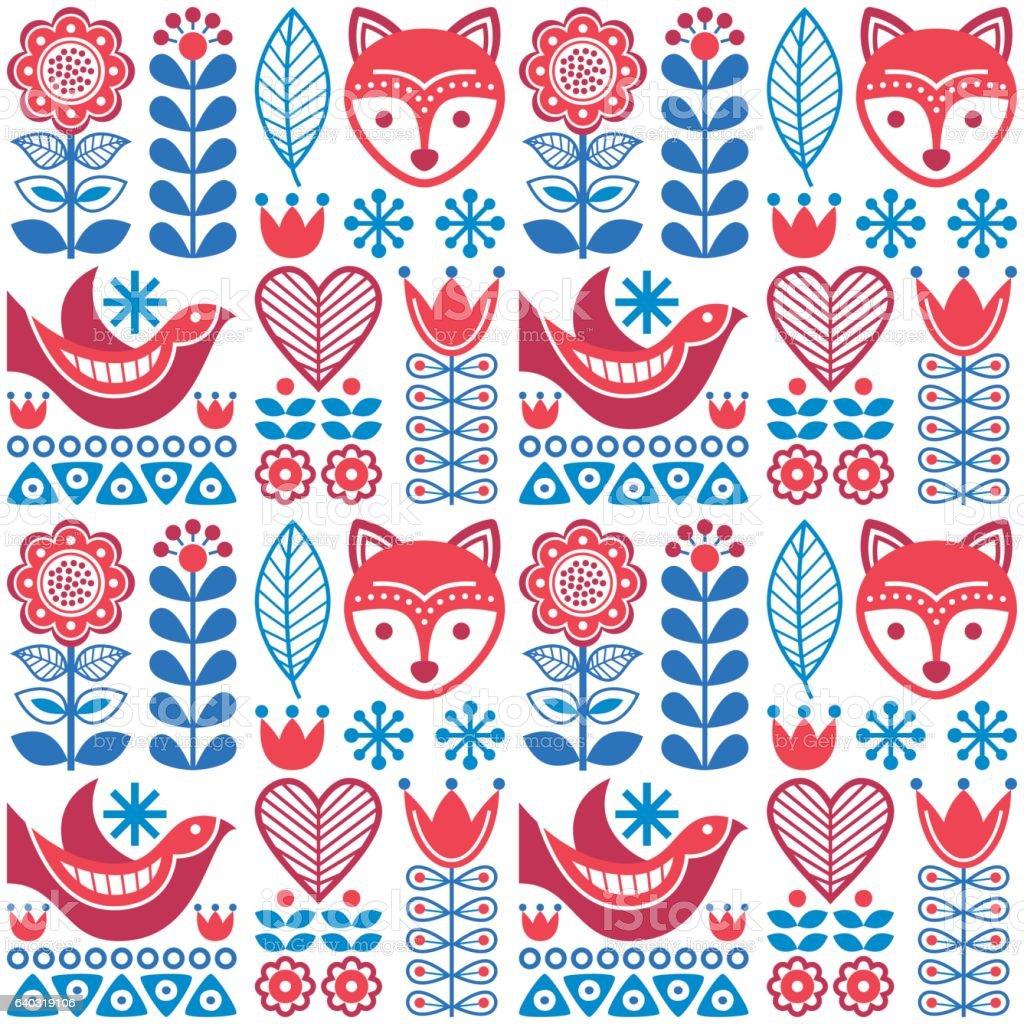 Folk Art Design Patterns