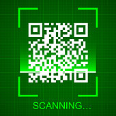 Scanning the QR code