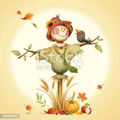 istock Scarecrow 609689682