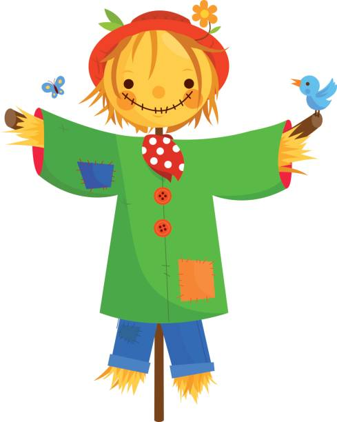 Royalty Free Scarecrow Clip Art, Vector Images ...