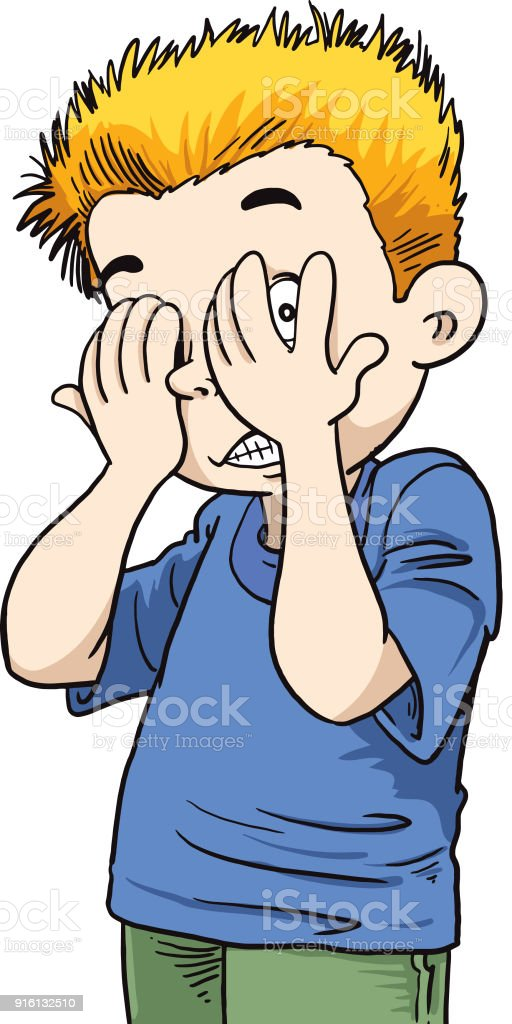 royalty free clip art of scared boy clip art vector images rh istockphoto com scared clipart face scared clipart