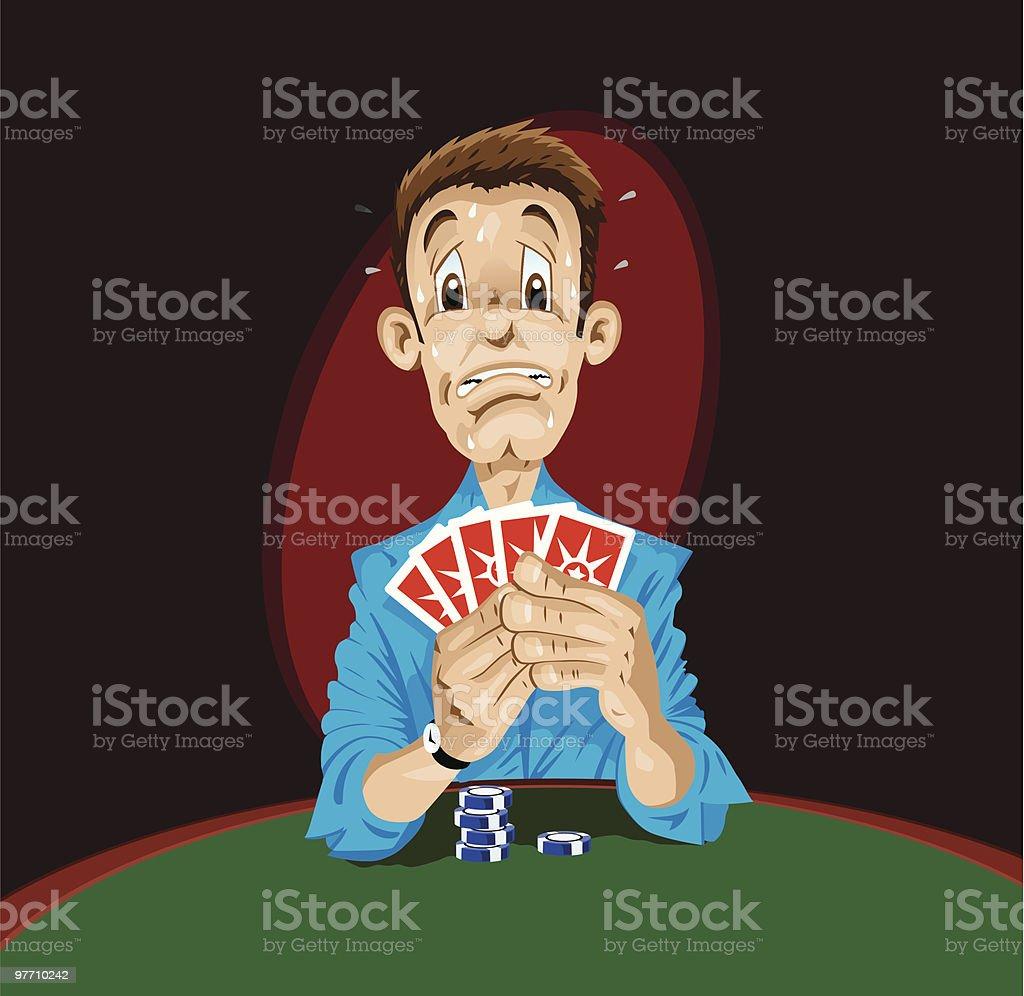 Poker Players Clip Art
