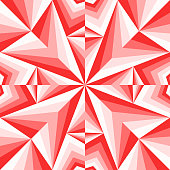modern contemporary geometric switching red gradient pattern