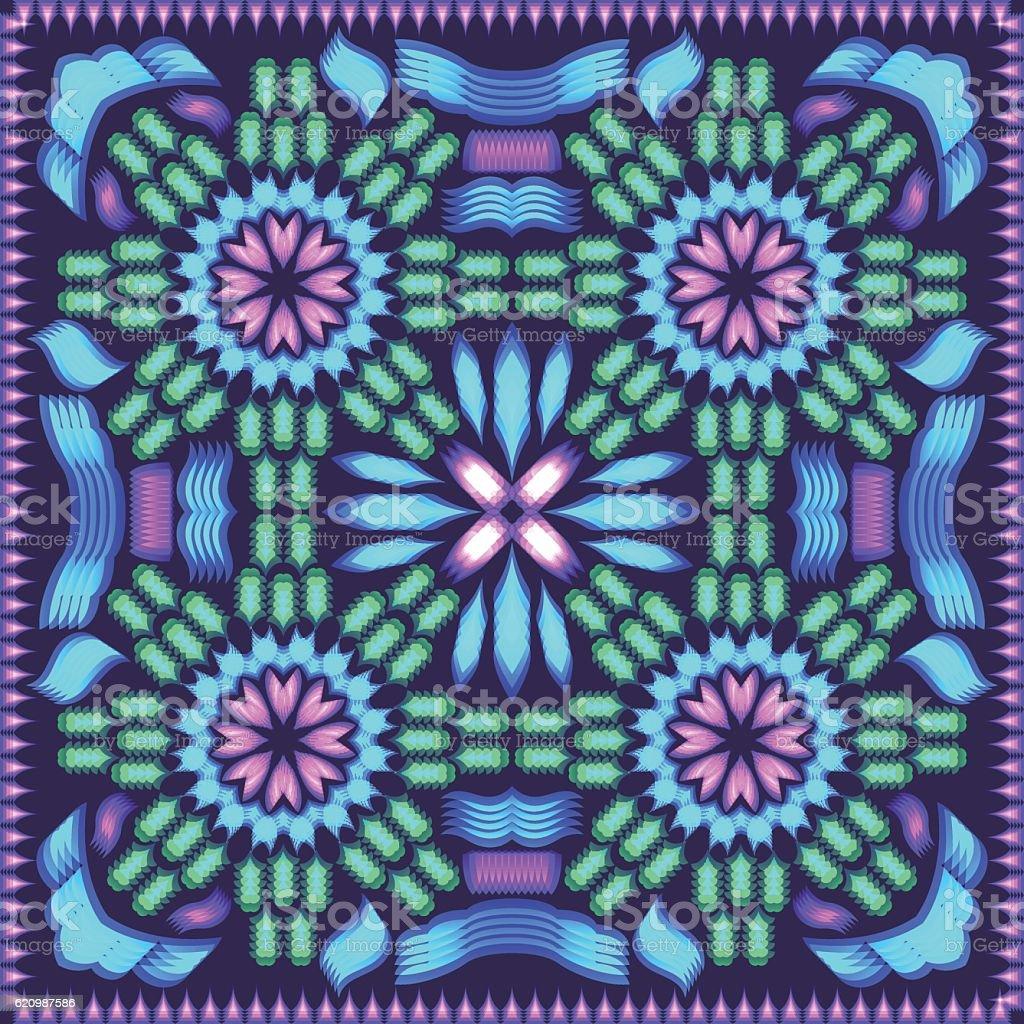 Lenço com padrão  ilustração de lenço com padrão e mais banco de imagens de abstrato royalty-free