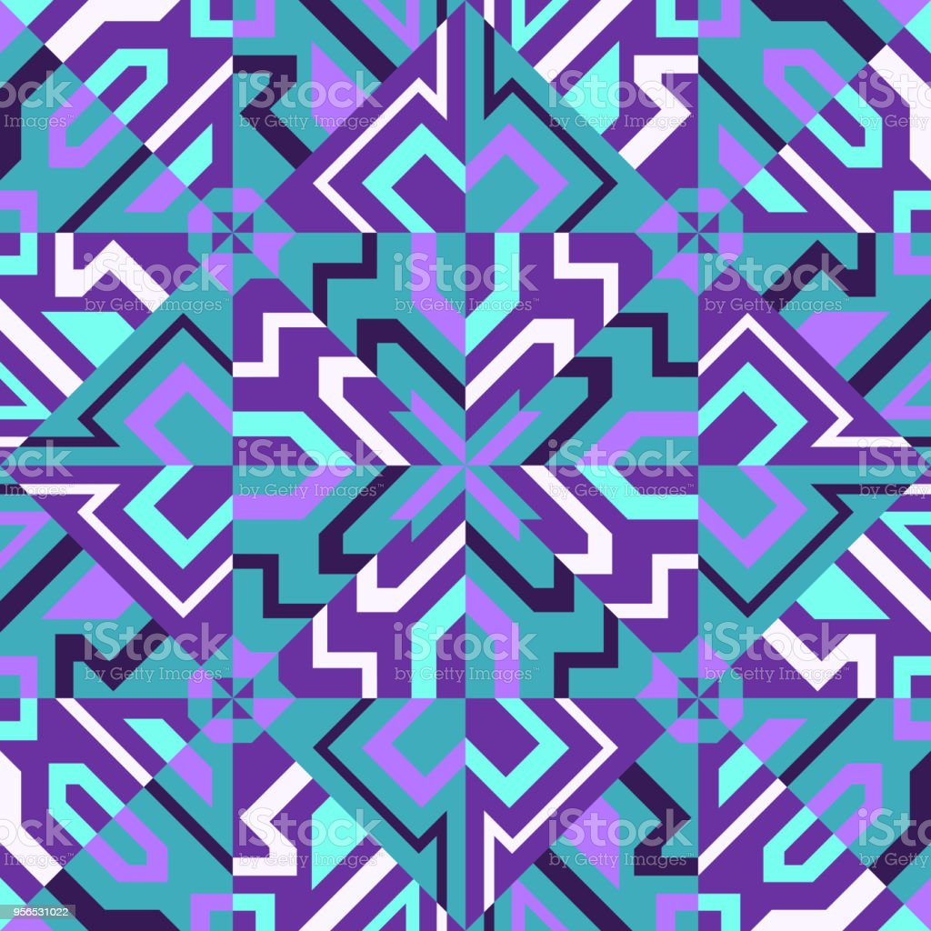 Schal mit Muster  - Lizenzfrei Bildhintergrund Vektorgrafik