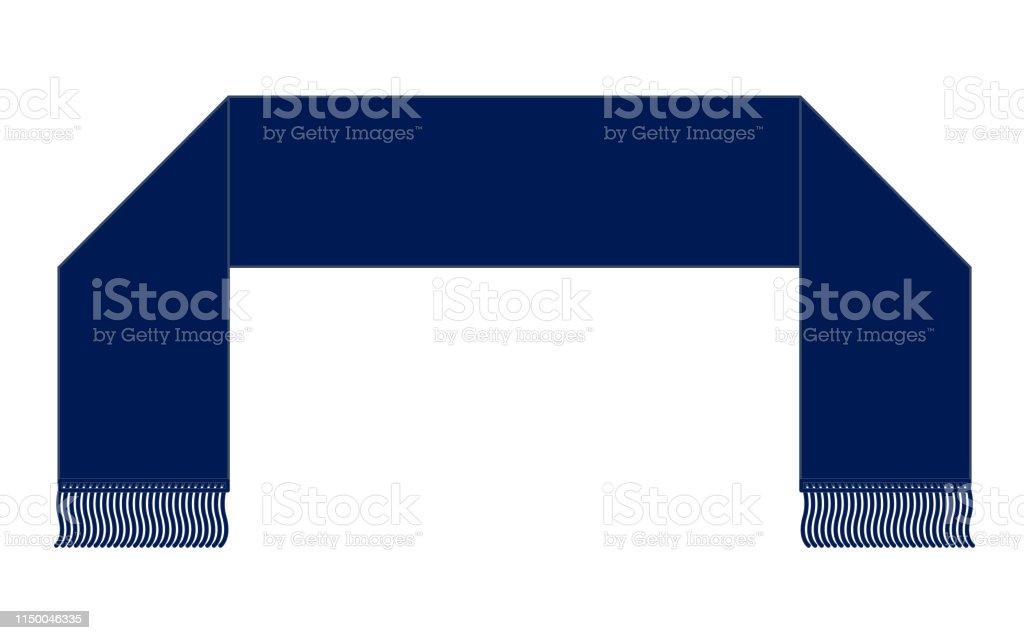 Scarf Vector For Template Stock Illustration Download