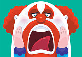 istock scary clown screaming 1220745887
