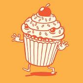 Scary Cupcake Running