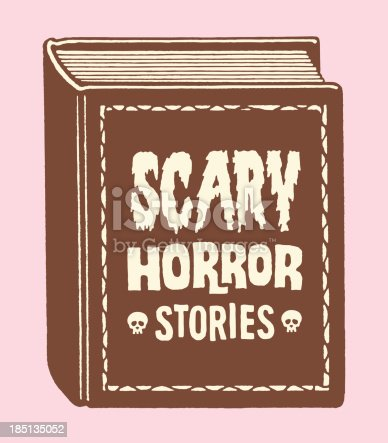 Scary Horror Stories Book