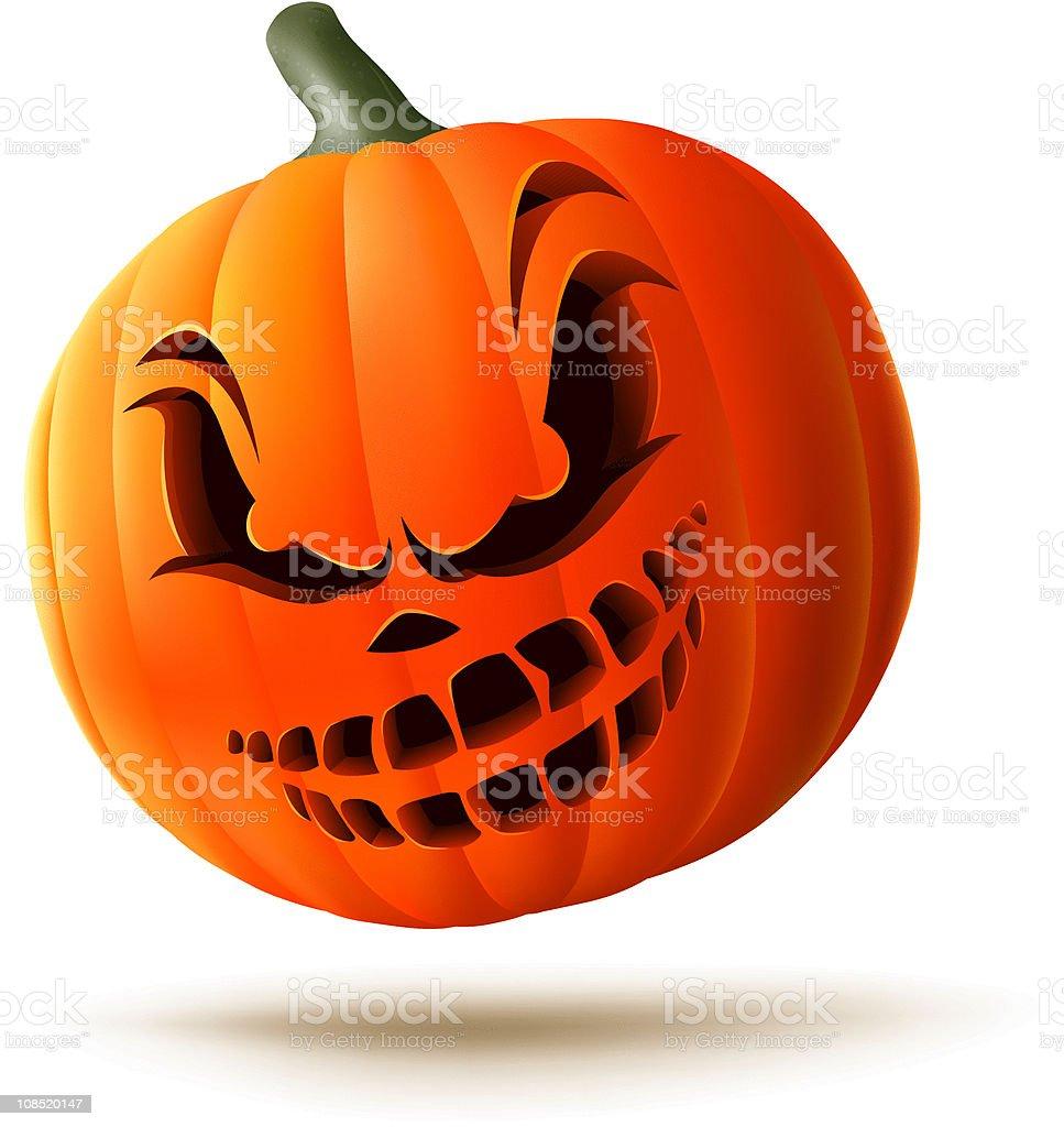 Scary Jack O Lantern Stock Illustration Download Image Now Istock
