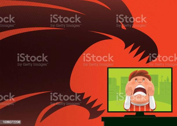 Scary kid with lion shadow vector id1036072206?b=1&k=6&m=1036072206&s=612x612&h=gz z3xk vpaxrnu9xfjamzd g69l6ihreegpa8csbvk=