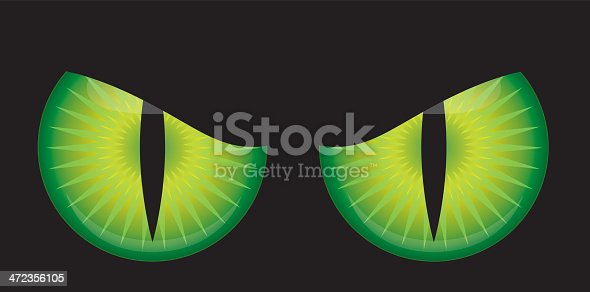 istock Scary Monster Eyes 472356105