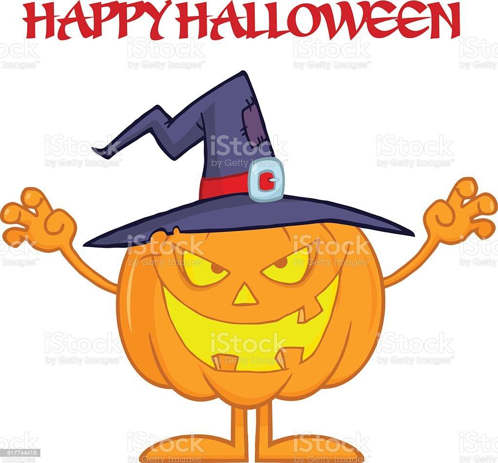 Spaventoso strega Halloween zucca con il testo spaventoso strega halloween  zucca con il testo - immagini 150409773199