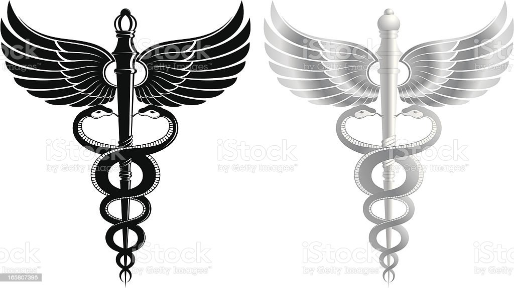 scepter vector art illustration