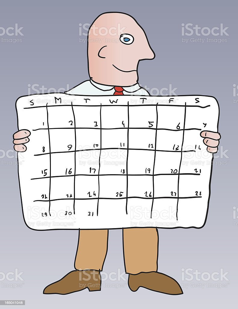 schedule calendar royalty-free schedule calendar stock vector art & more images of adult