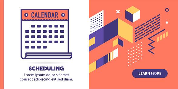 Scheduling Banner