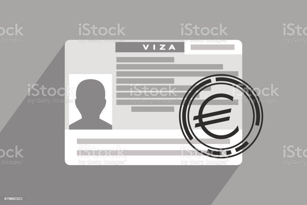 Perfekt Schengen Visum Und Impressum Mit Euro Zeichen Lizenzfreies Schengenvisum  Und Impressum Mit Eurozeichen Stock