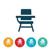 istock Schol Desk Icon 531035573
