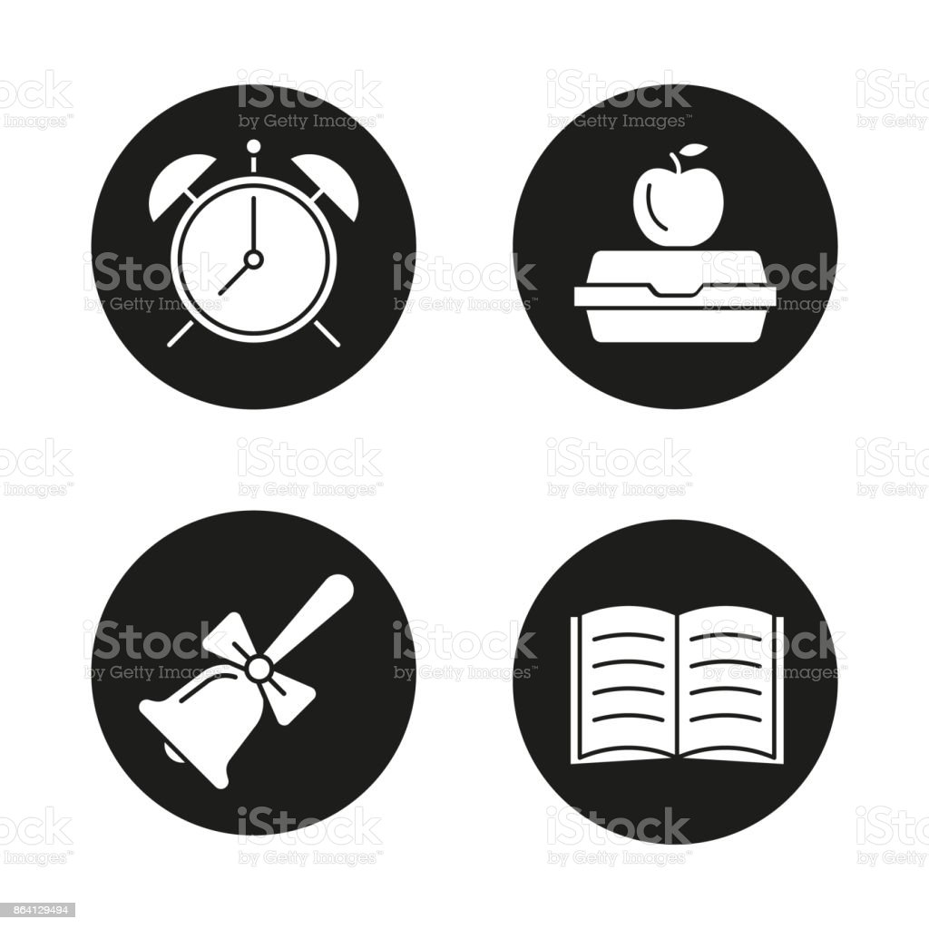 School and education icons royalty-free school and education icons stock vector art & more images of alarm
