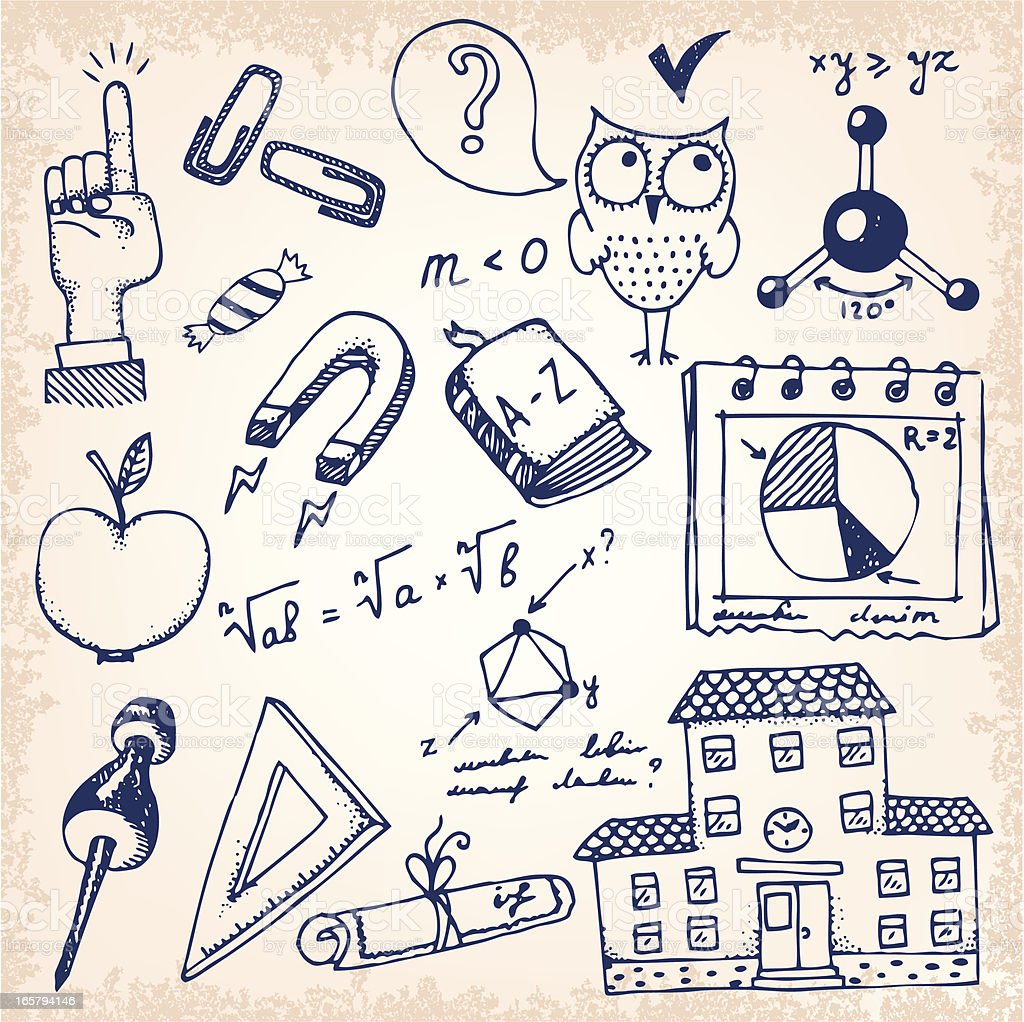 School and education wallpaper royalty-free school and education wallpaper stock vector art & more images of algebra