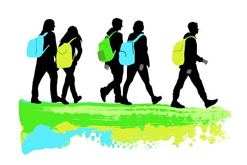 School Backpack Journey