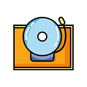 school bell alert object design