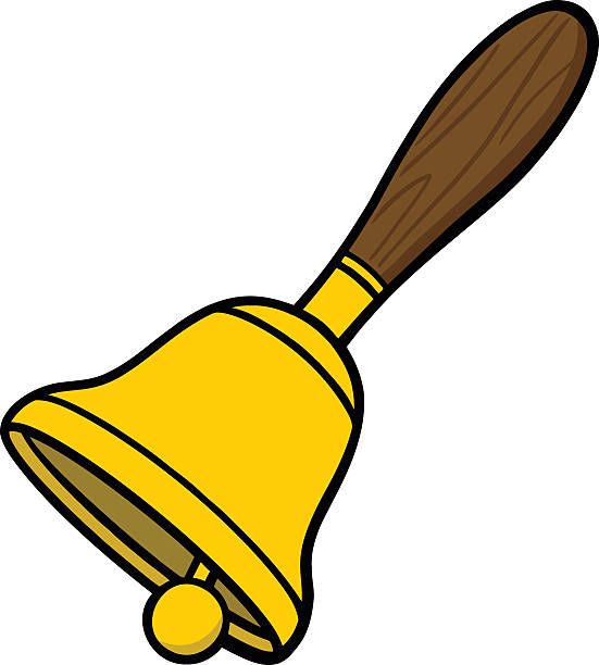 Best Hand Bell Illustrations, Royalty-Free Vector Graphics ...