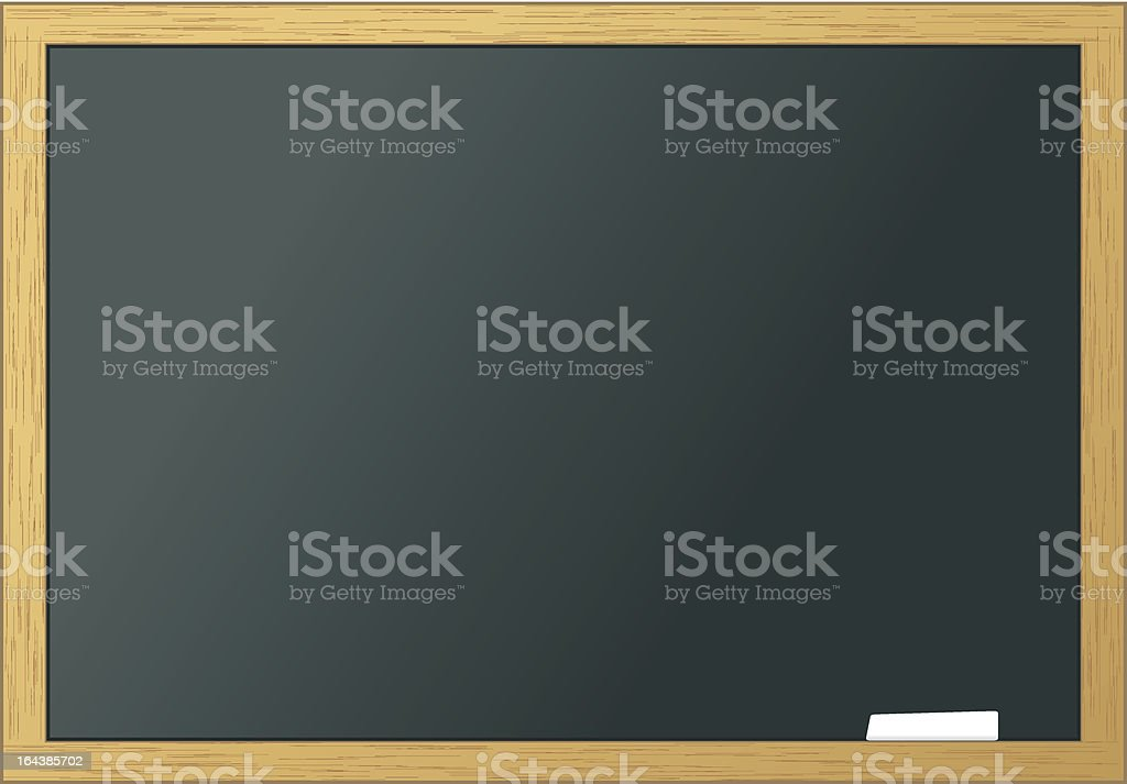 School blackboard blank royalty-free stock vector art