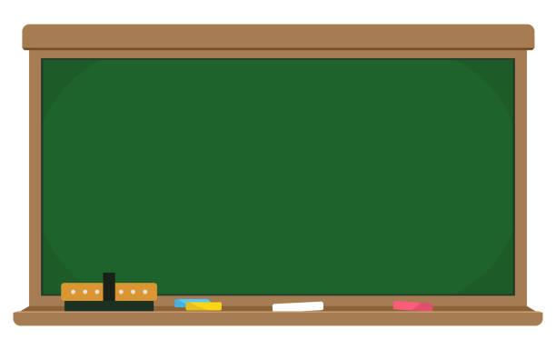 学校の黒板 ベクターアートイラスト