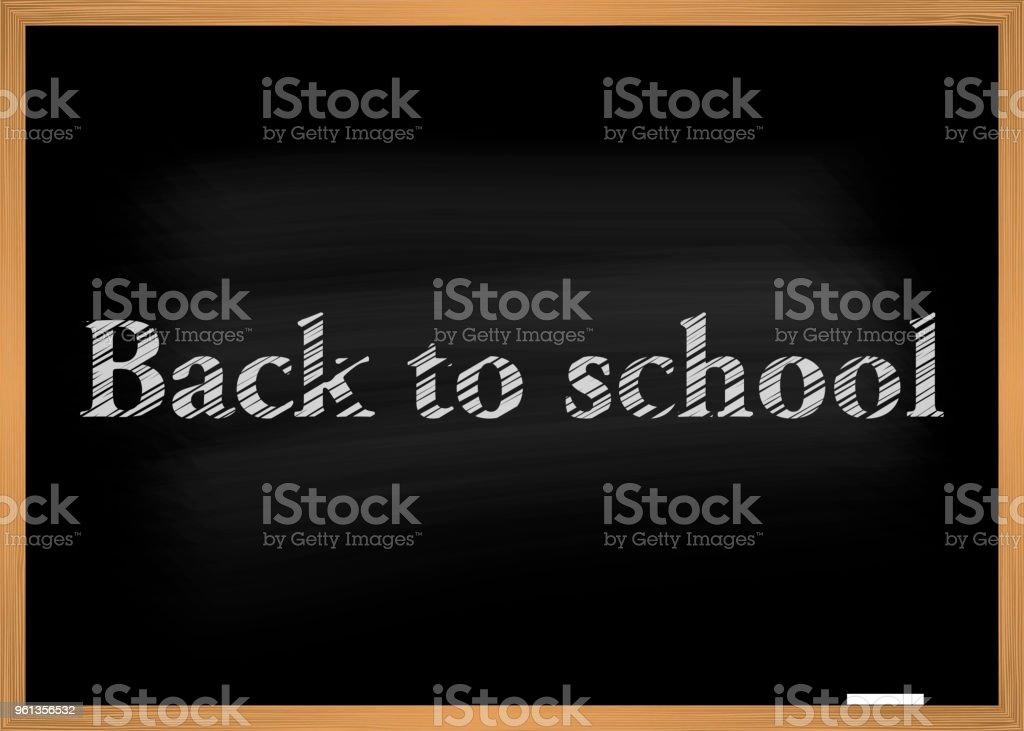 school blackboard vector vector art illustration