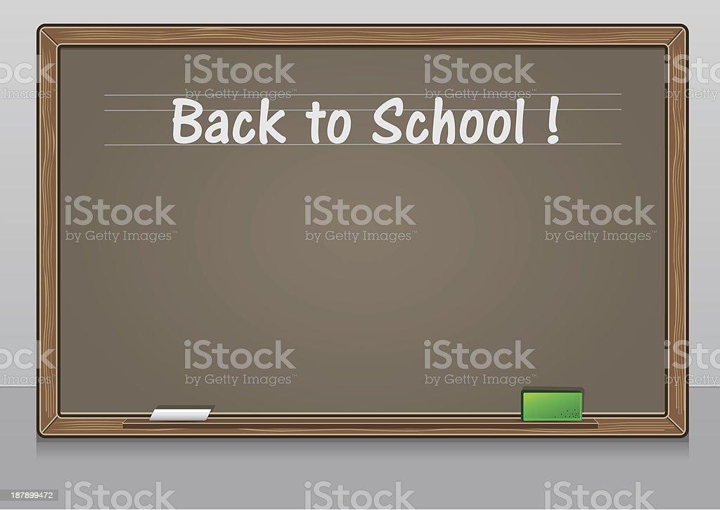 School board royalty-free stock vector art