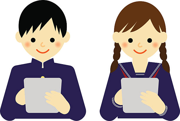 Royalty Free Middle School Class Clip Art, Vector Images ...