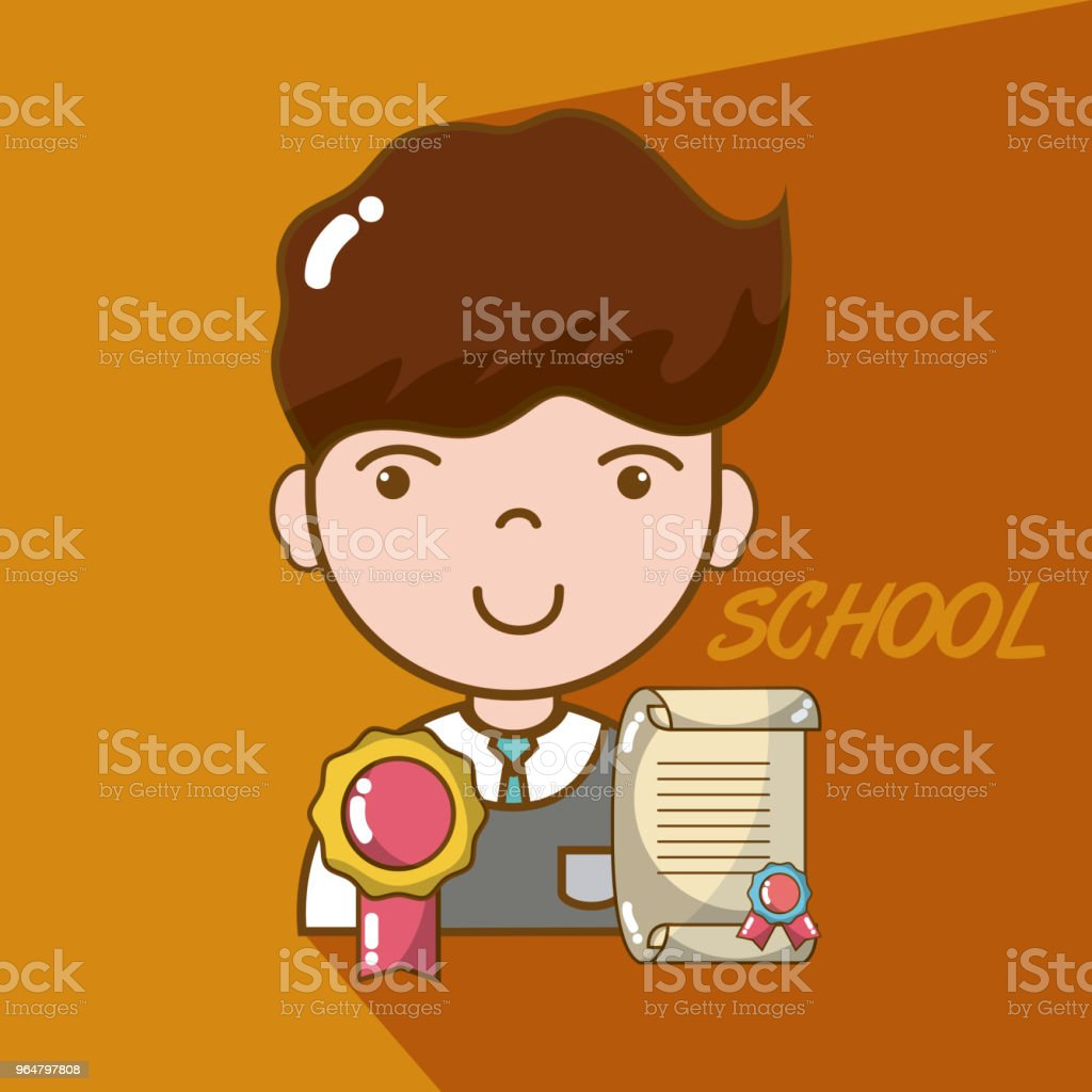 School boy cartoon royalty-free school boy cartoon stock vector art & more images of adult
