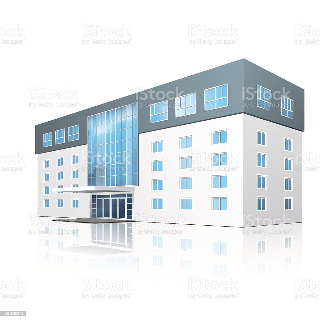 royalty free office building entrance clip art vector images rh istockphoto com small office building clipart small office building clipart