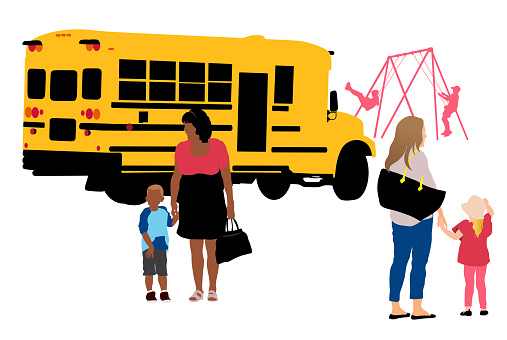 School Bus Commuting Students