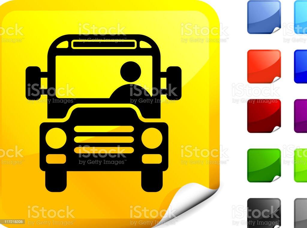 school bus internet royalty free vector art royalty-free stock vector art