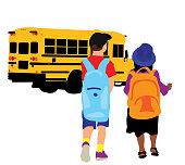 istock School Bus Kids 1336998129