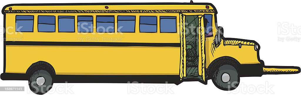 Bus Scolaire Vecteurs Libres De Droits Et Plus Dimages