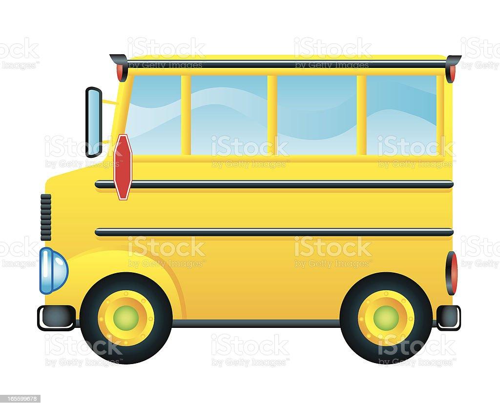 School Bus royalty-free stock vector art