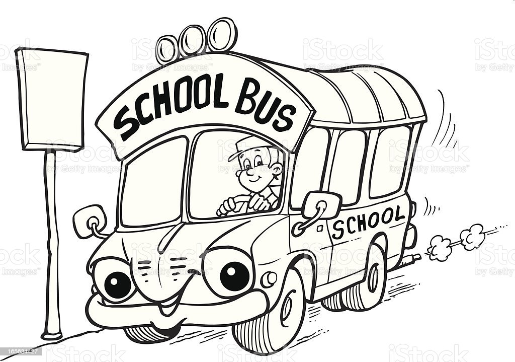 School bus royalty-free school bus stock vector art & more images of adult