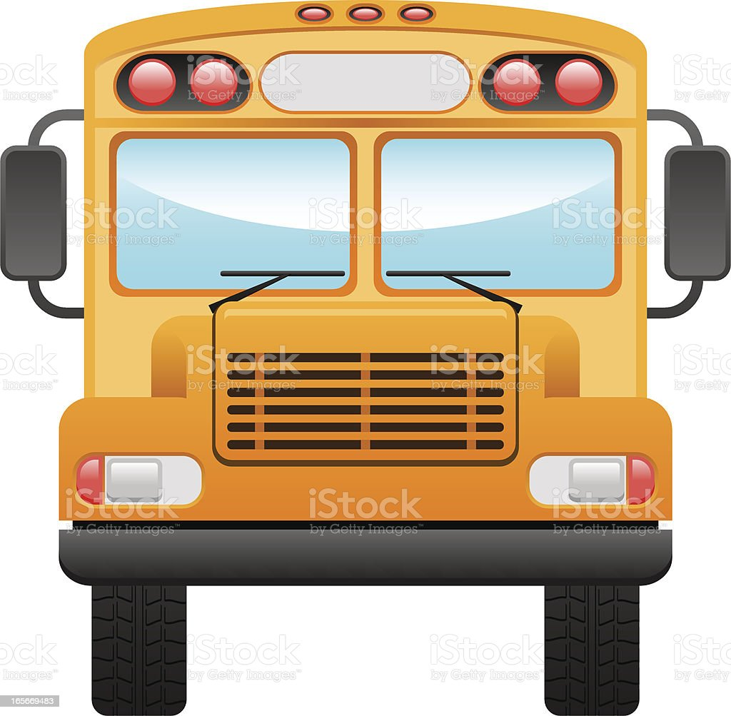 royalty free school bus bus clip art front view clip art vector rh istockphoto com bus clipart free bus clipart free